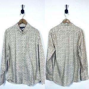 J. CREW XL Classic-fit Printed Floral Poplin Shirt